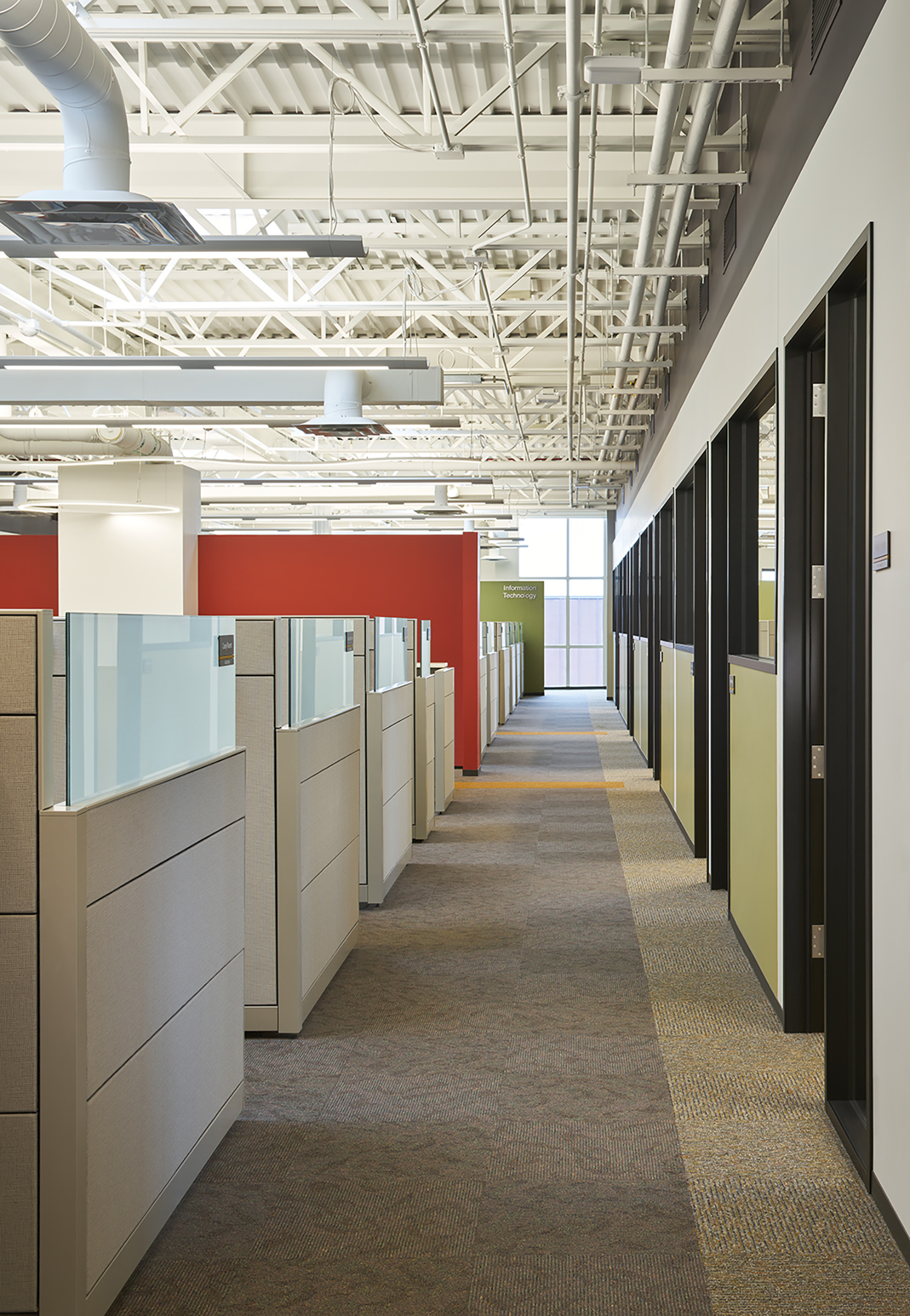 Headquarters Addition and Janney Technical Center - Executive Construction